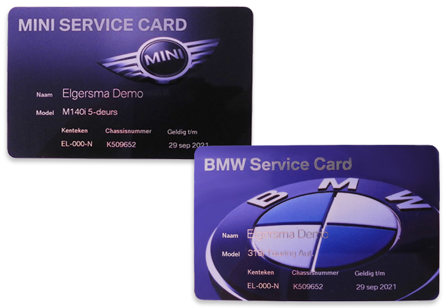 Bmw Card Services Business Cards For Bmw Service Centers